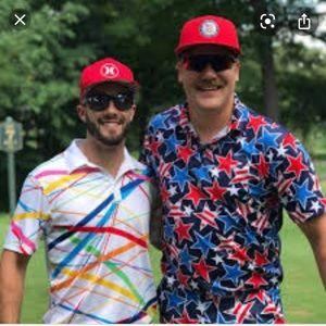 Loudmouth golf shirt